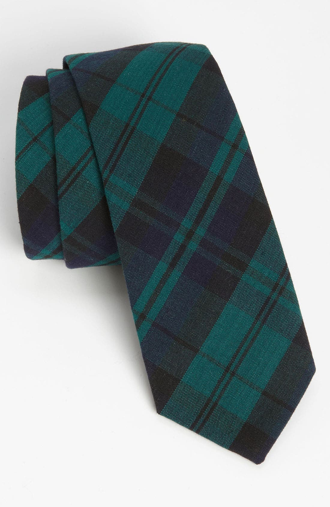 Main Image - Gitman Woven Cotton Tie