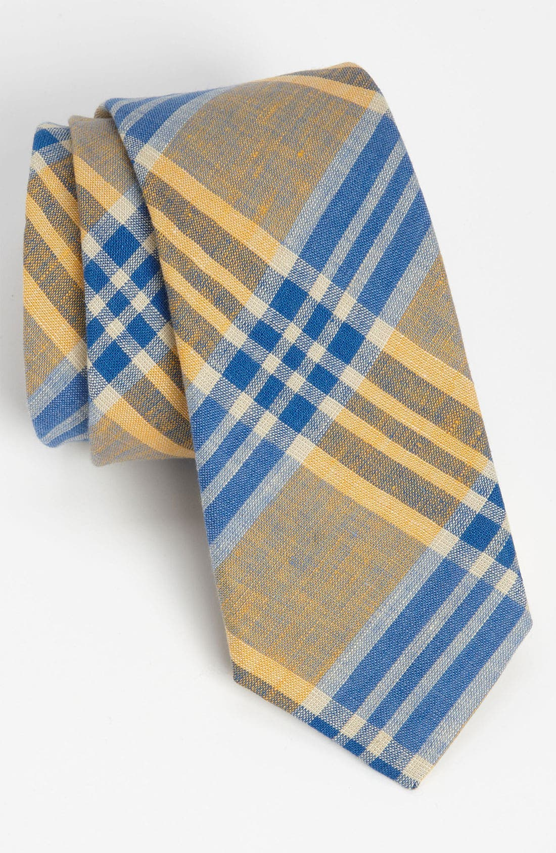 Alternate Image 1 Selected - Gitman Woven Linen Tie
