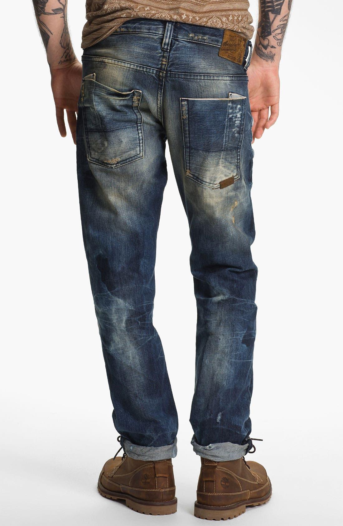 Main Image - PRPS 'Nautilus Barracuda' Straight Leg Jeans (Indigo)