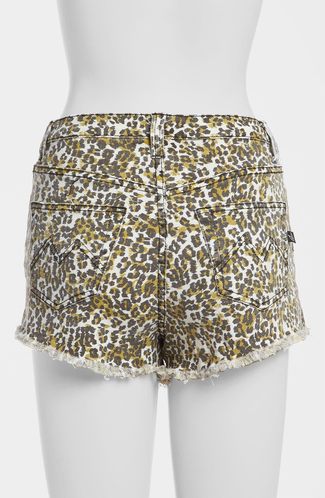 Alternate Image 3  - MINKPINK 'Runaway Leopard' Slash Shorts