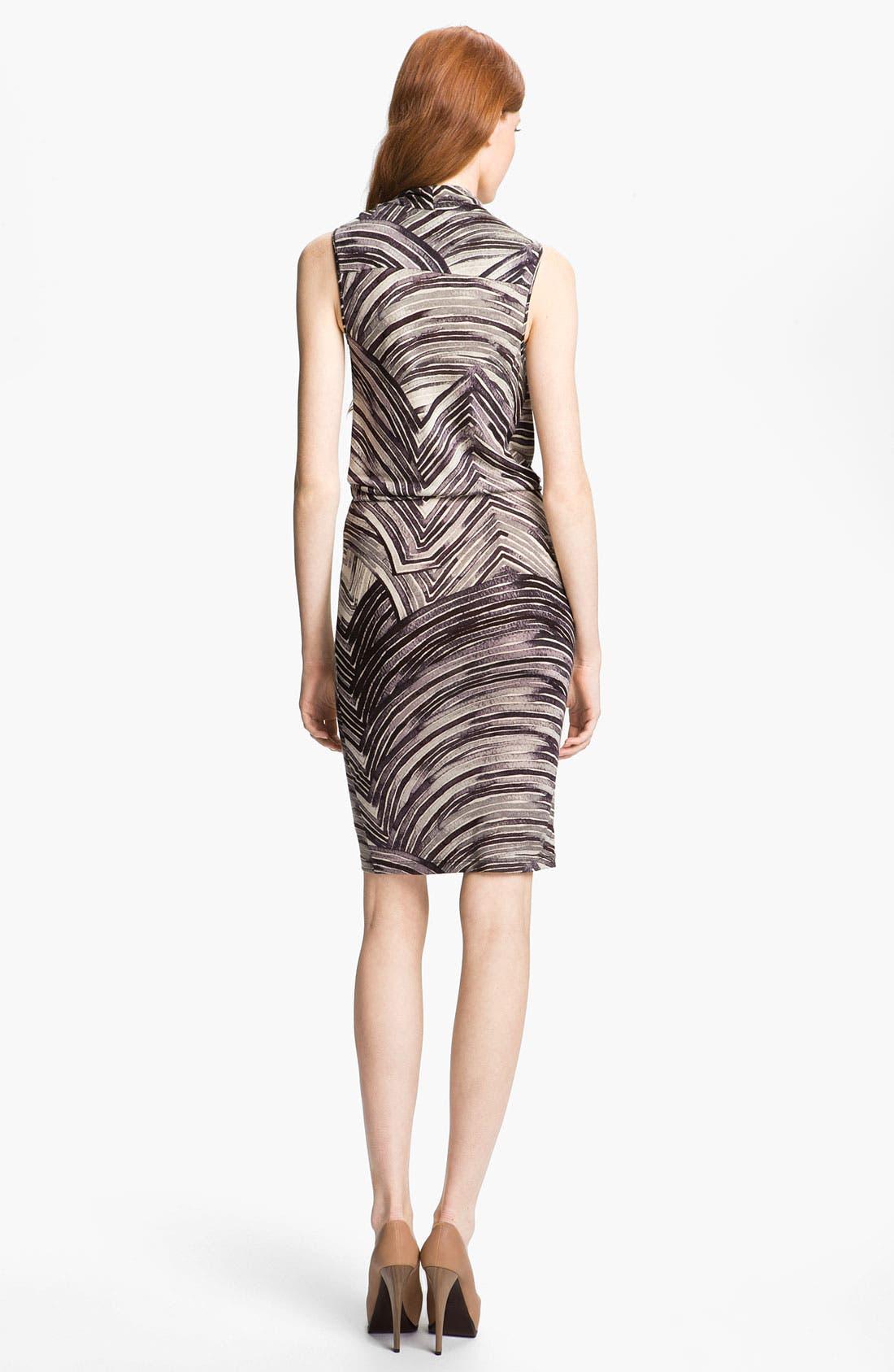 Alternate Image 2  - Halston Heritage Draped Dress