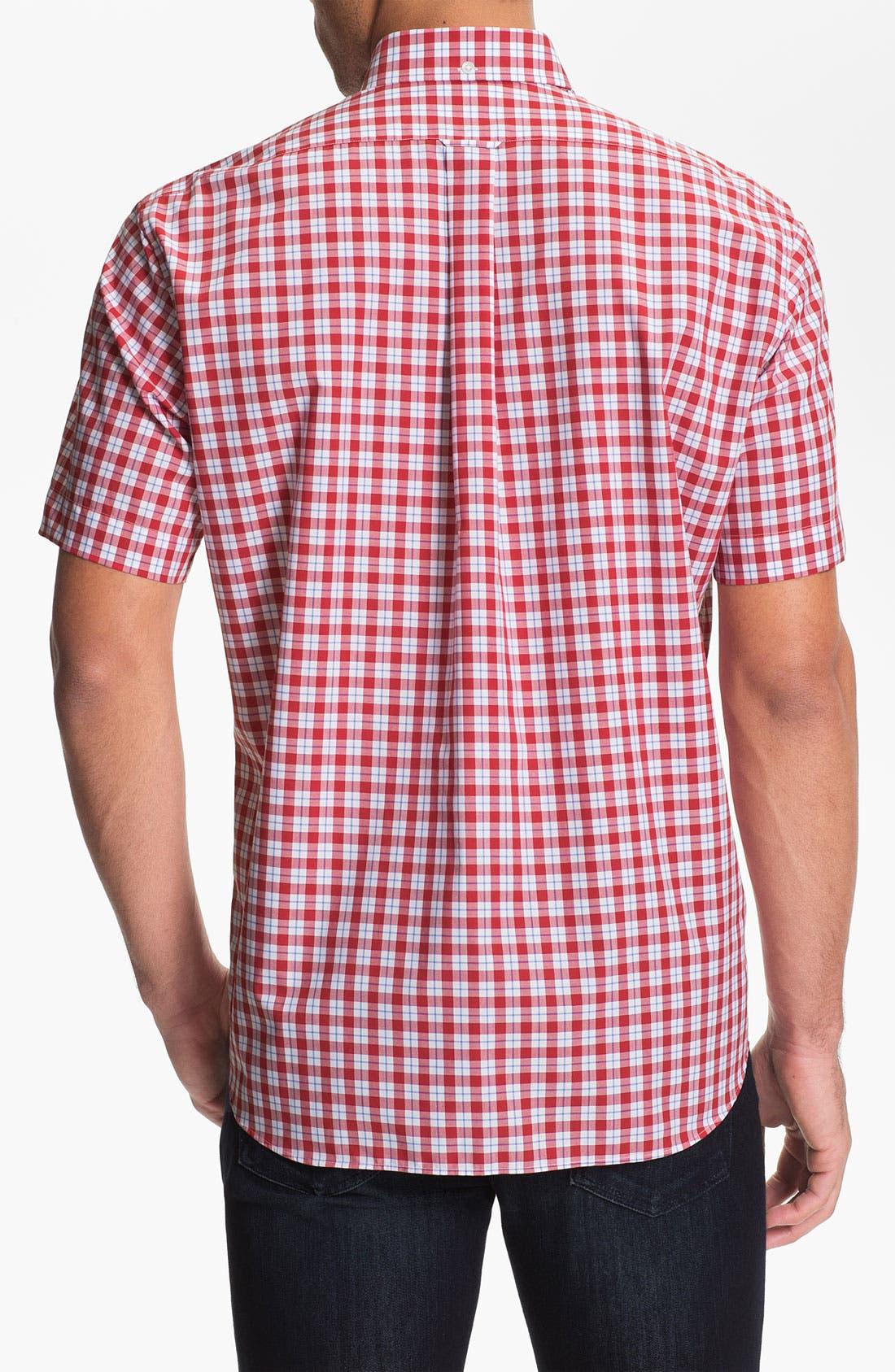 Alternate Image 2  - Façonnable Classique Fit Short Sleeve Sport Shirt