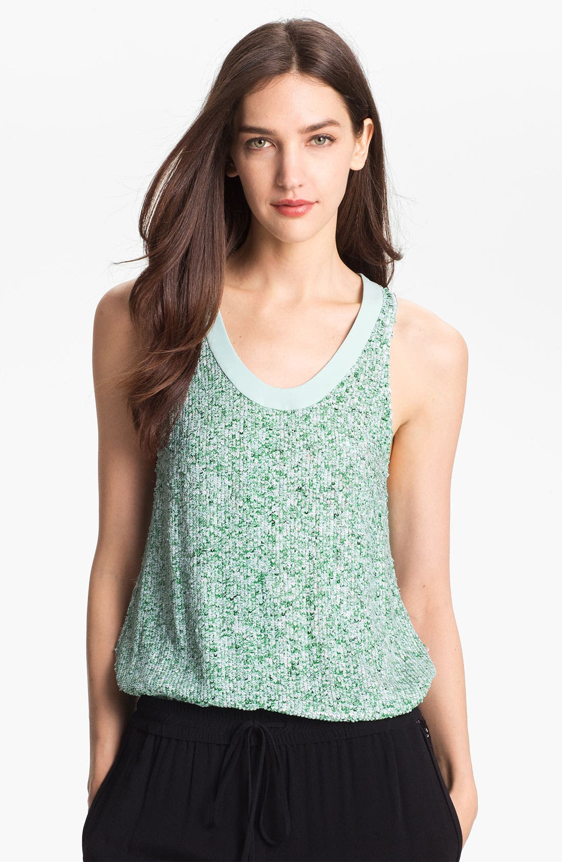 Alternate Image 1 Selected - Diane von Furstenberg 'Emilia' Sequin Tank