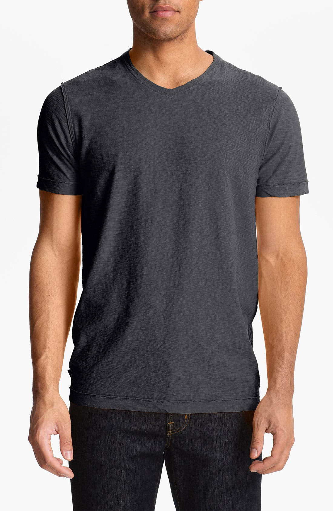 Alternate Image 1 Selected - Cutter & Buck 'Arbor Heights' V-Neck T-Shirt (Big & Tall)