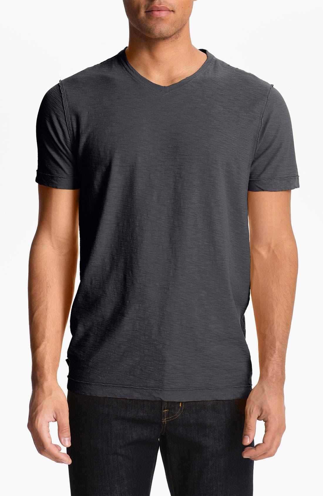 Main Image - Cutter & Buck 'Arbor Heights' V-Neck T-Shirt (Big & Tall)