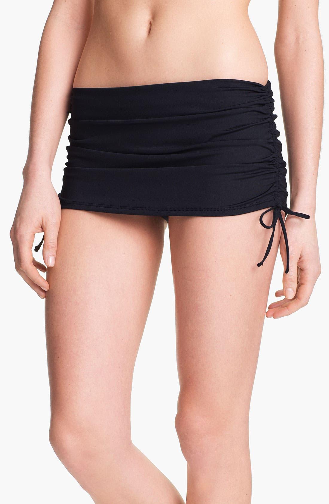 Alternate Image 1 Selected - La Blanca Skirted Hipster Bikini Bottoms