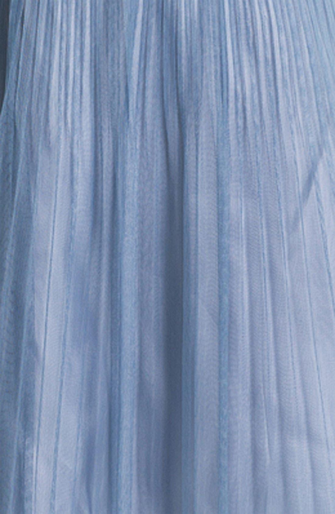 Alternate Image 3  - Donna Morgan Strapless Textured Tulle Dress