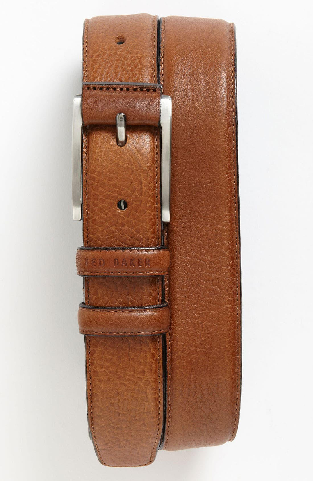 Alternate Image 1 Selected - Ted Baker London Leather Belt