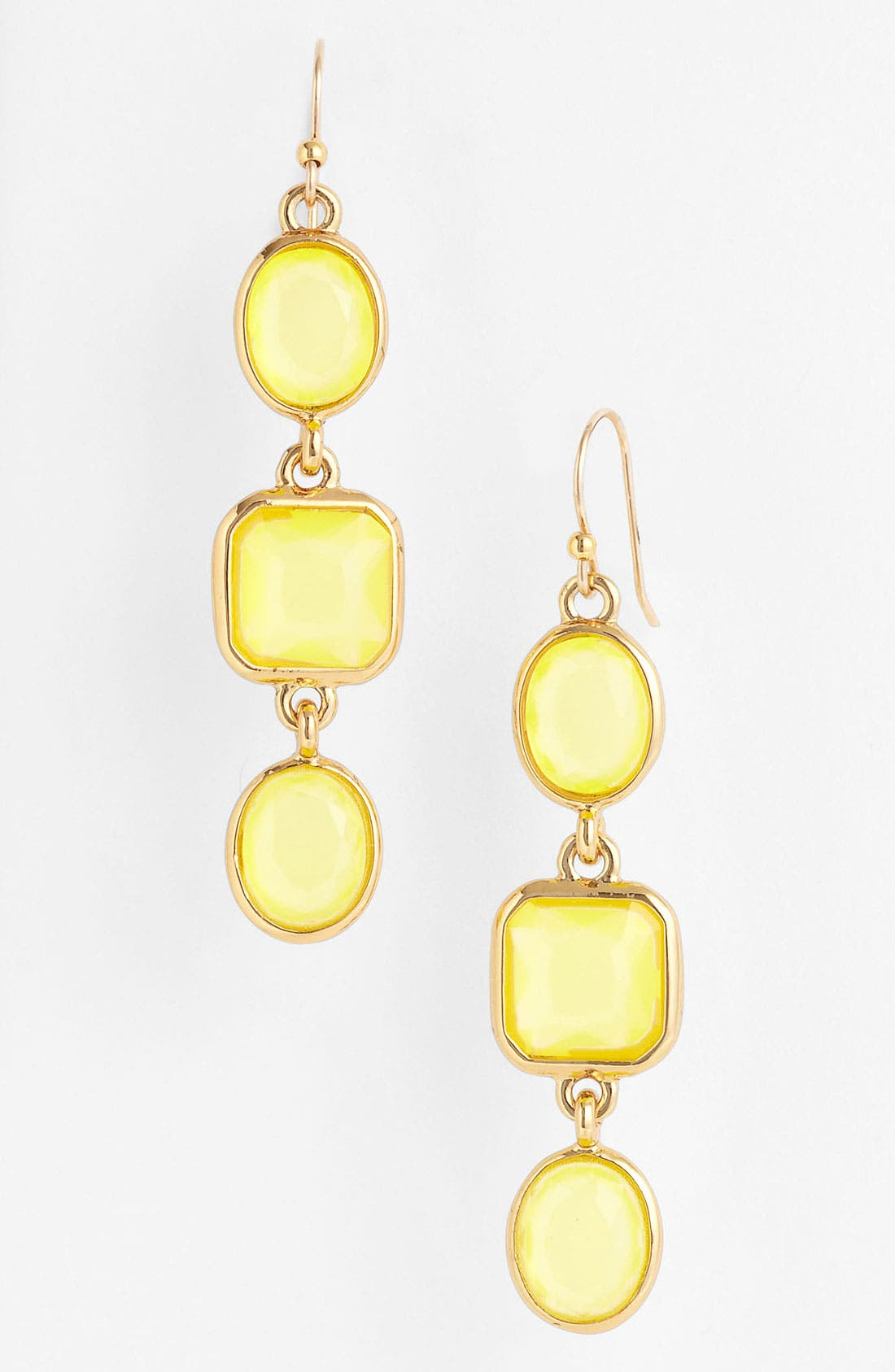 Alternate Image 1 Selected - kate spade new york 'coated confetti' linear earrings