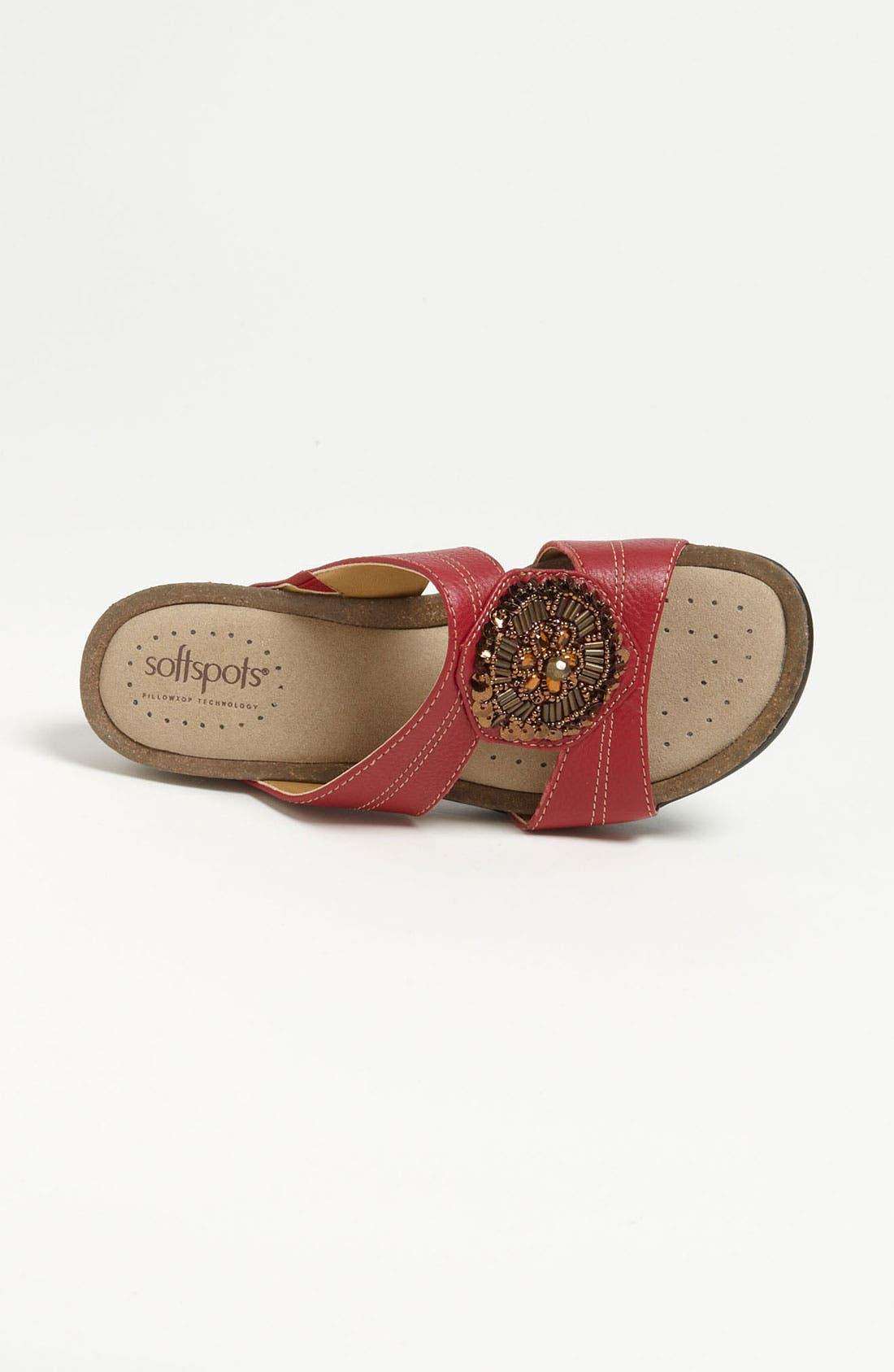 Alternate Image 3  - Softspots Beaded Sandal