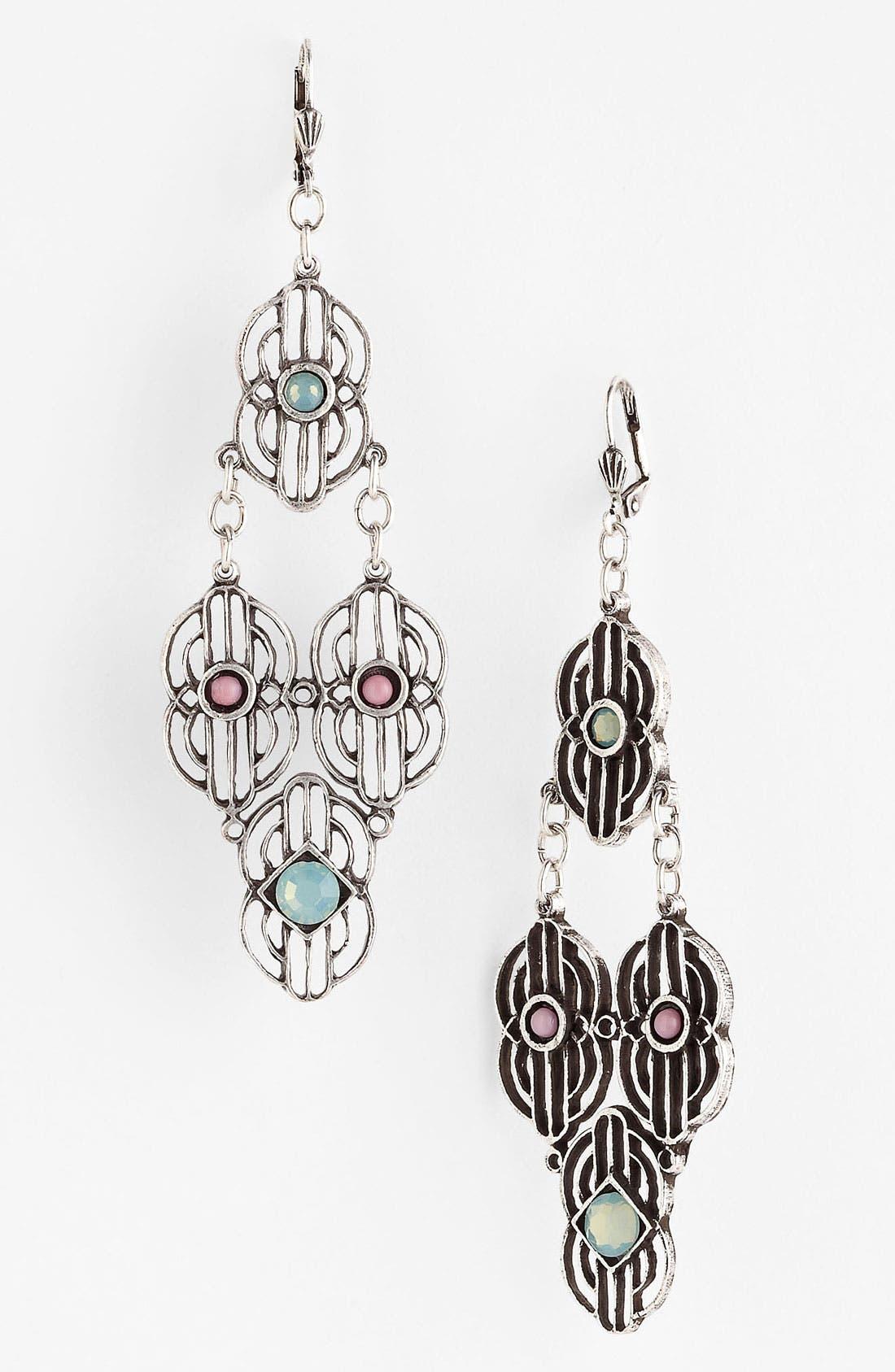 Alternate Image 1 Selected - Bonnie Jonas 'New Deco' Chandelier Earrings