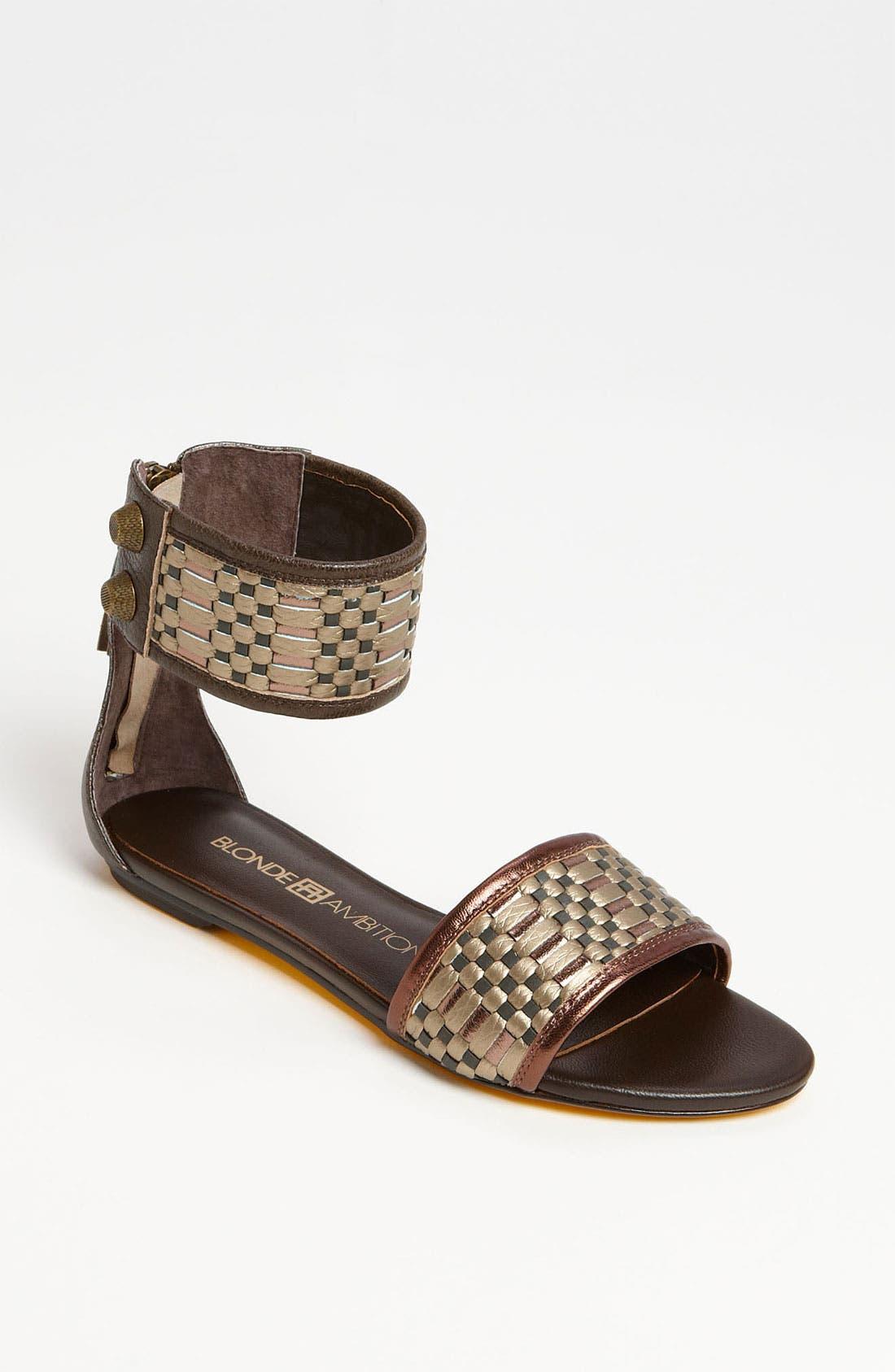 Alternate Image 1 Selected - Blonde Ambition 'Veloz' Sandal