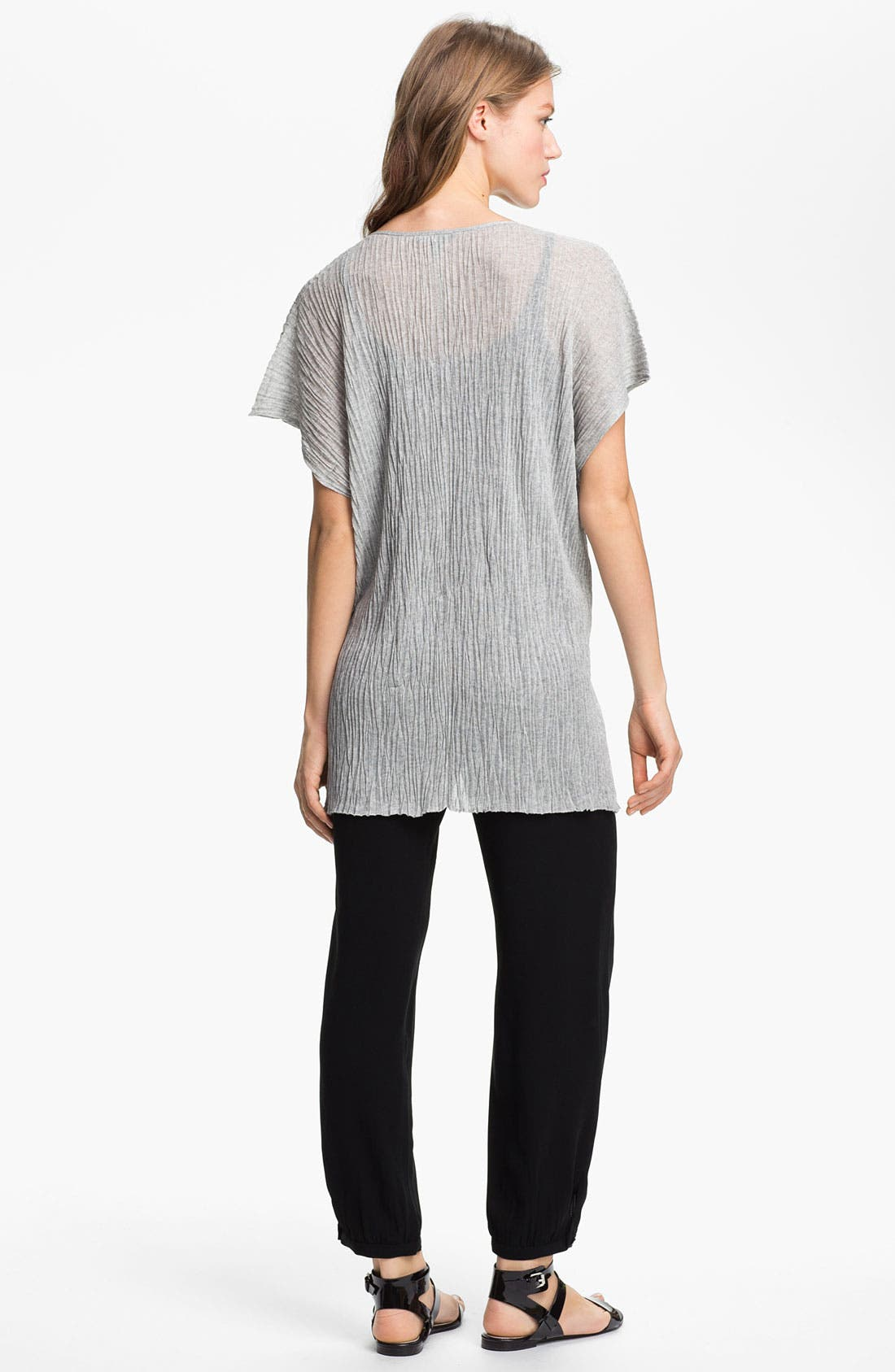 Alternate Image 5  - Eileen Fisher Boxy Crinkled V-Neck Tunic