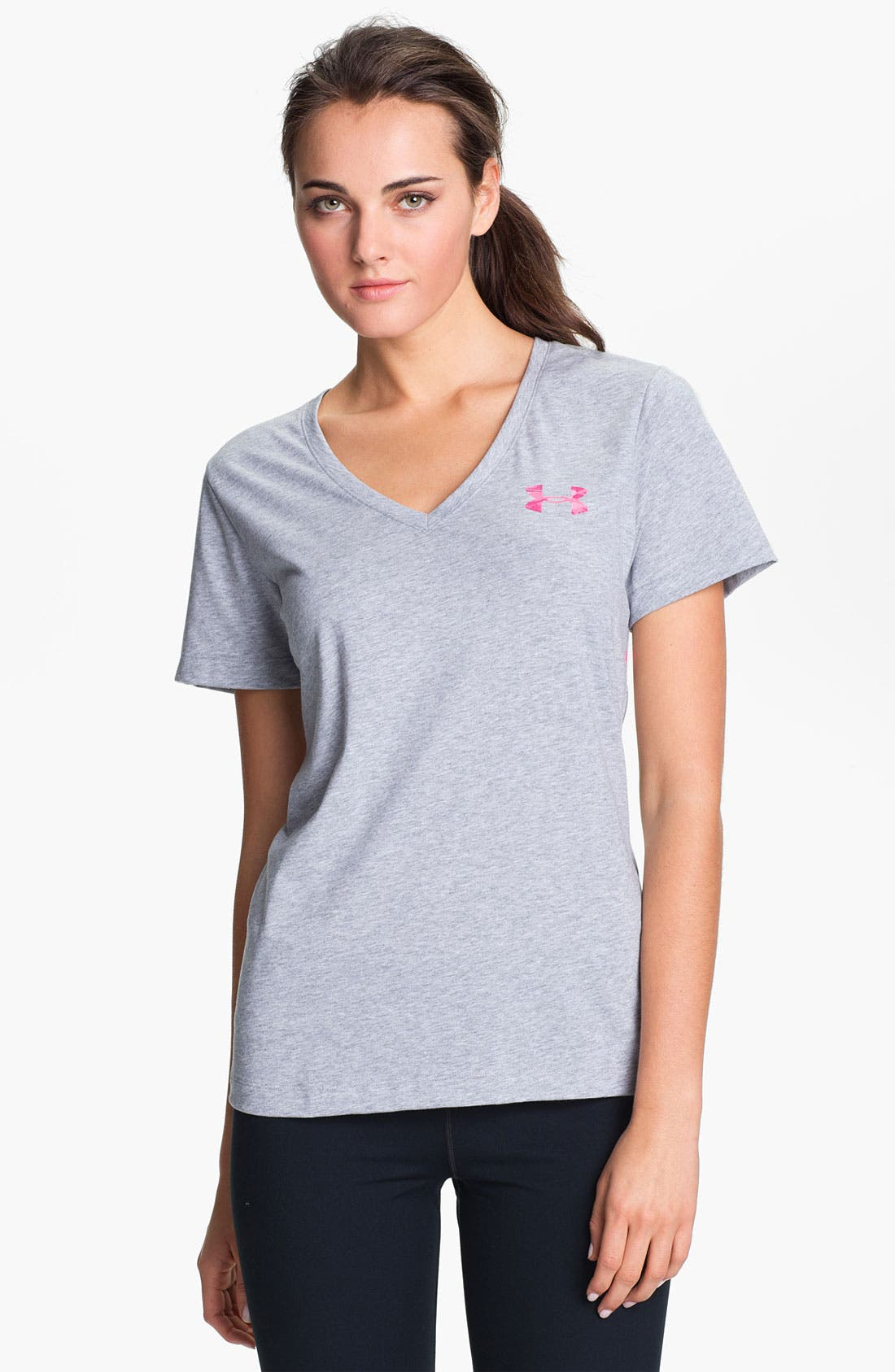 Alternate Image 2  - Under Armour 'Power in Pink' Camo Print Tee
