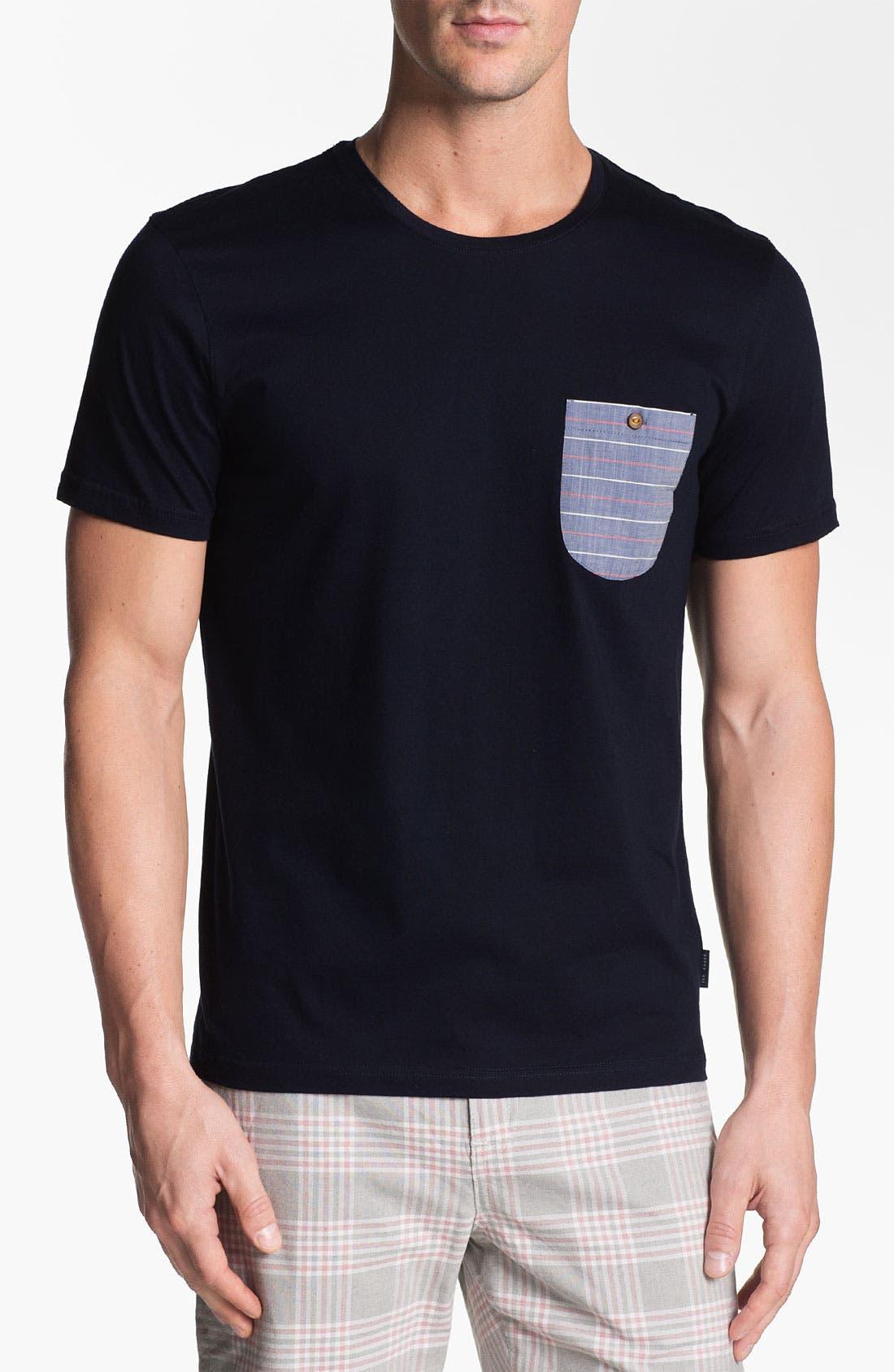 Main Image - Ted Baker London 'Mezsure' Pocket T-Shirt