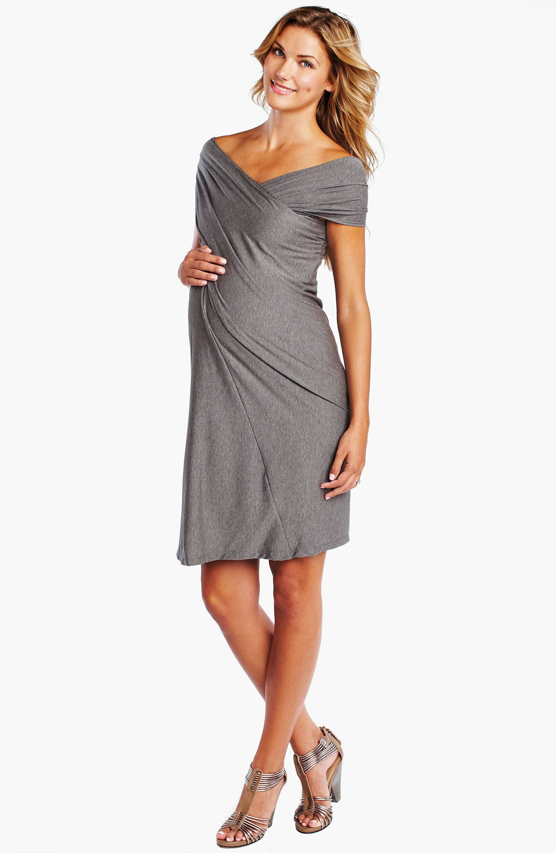 Main Image - Maternal America Convertible Maternity Dress