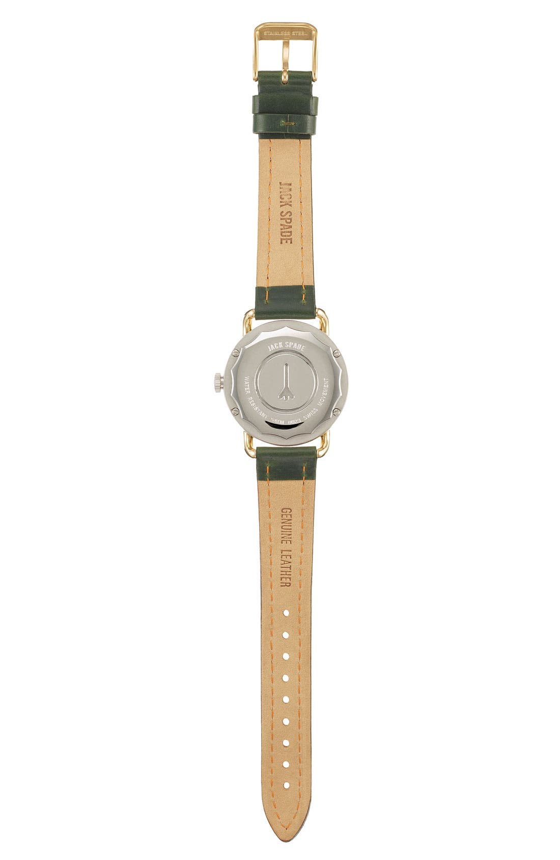 Alternate Image 3  - Jack Spade 'Classic Military - Stillwell' Round Watch, 38mm