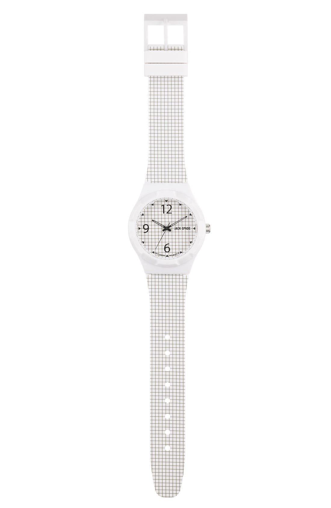 Alternate Image 2  - Jack Spade 'Graphic - Check' Watch, 40mm