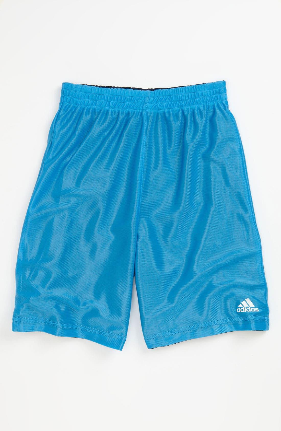 Alternate Image 2  - adidas 'Flip Side' Reversible Shorts (Little Boys)