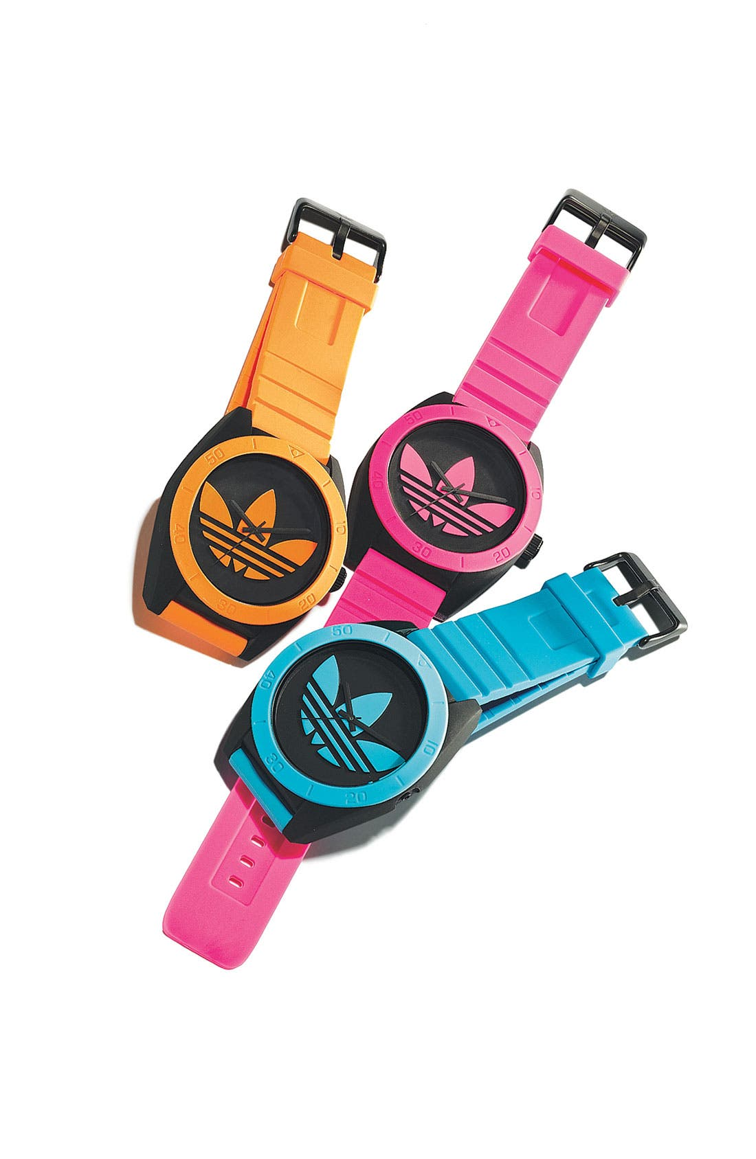 Alternate Image 2  - adidas Originals 'Santiago XL' Neon Accent Watch, 50mm