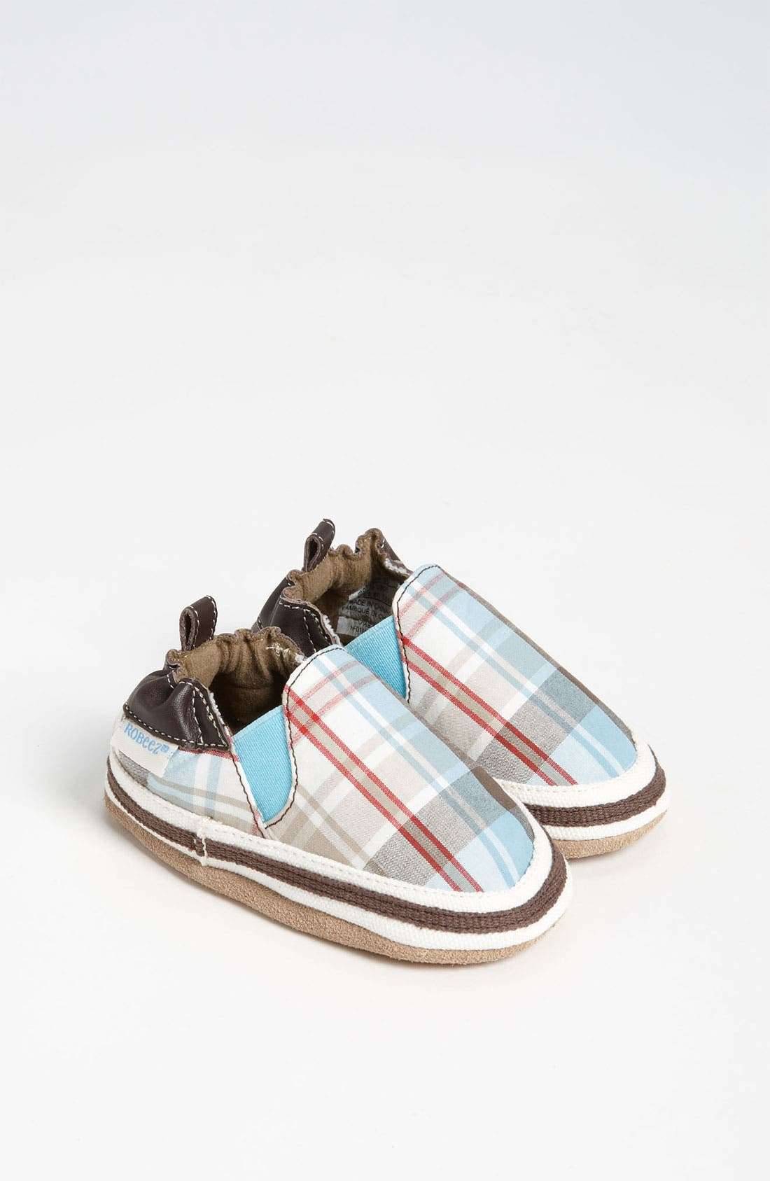 Alternate Image 1 Selected - Robeez® 'Day Out' Crib Shoe (Baby & Walker)