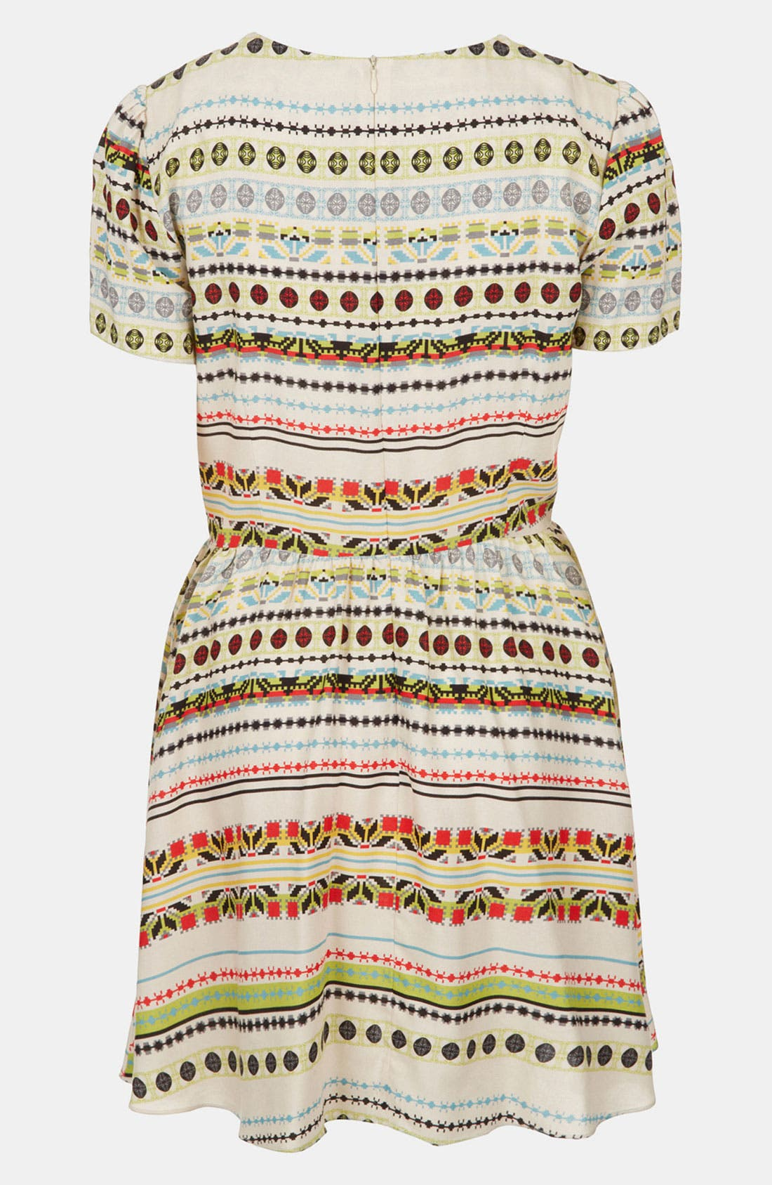 Alternate Image 2  - Topshop 'Florence' Southwest Stripe Dress