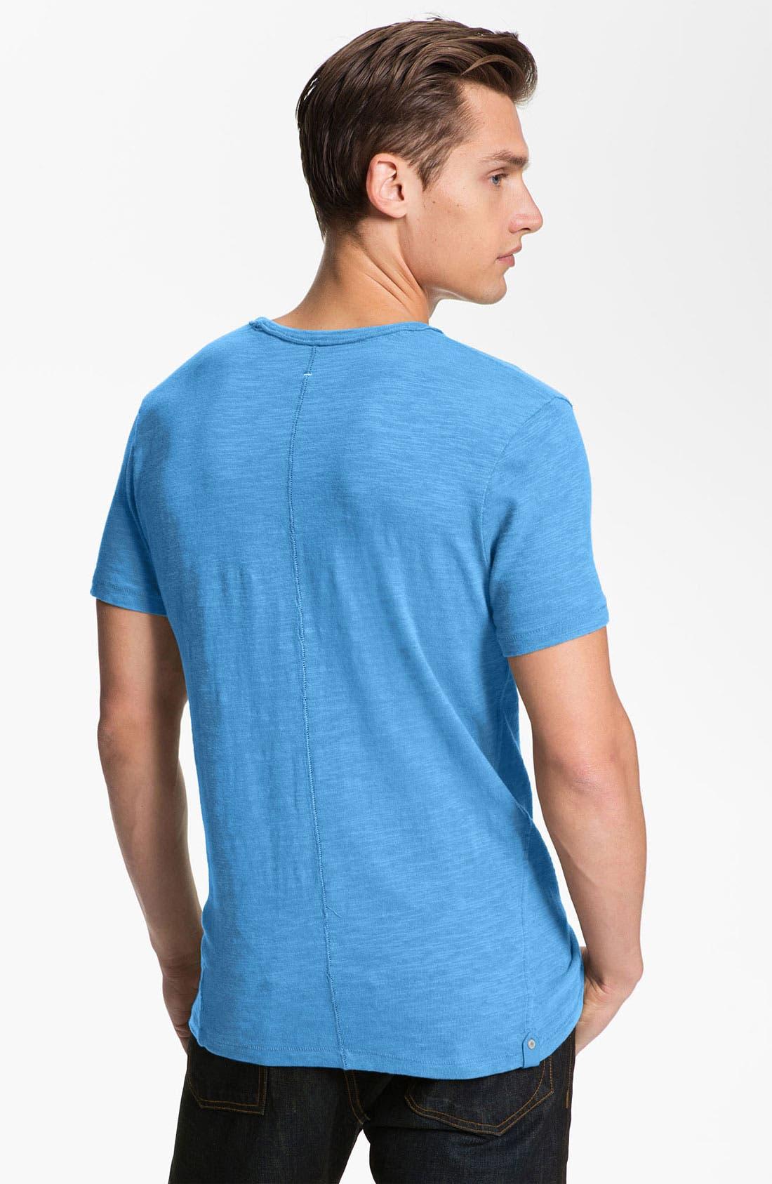 Alternate Image 2  - rag & bone Standard Issue Slubbed Cotton T-Shirt