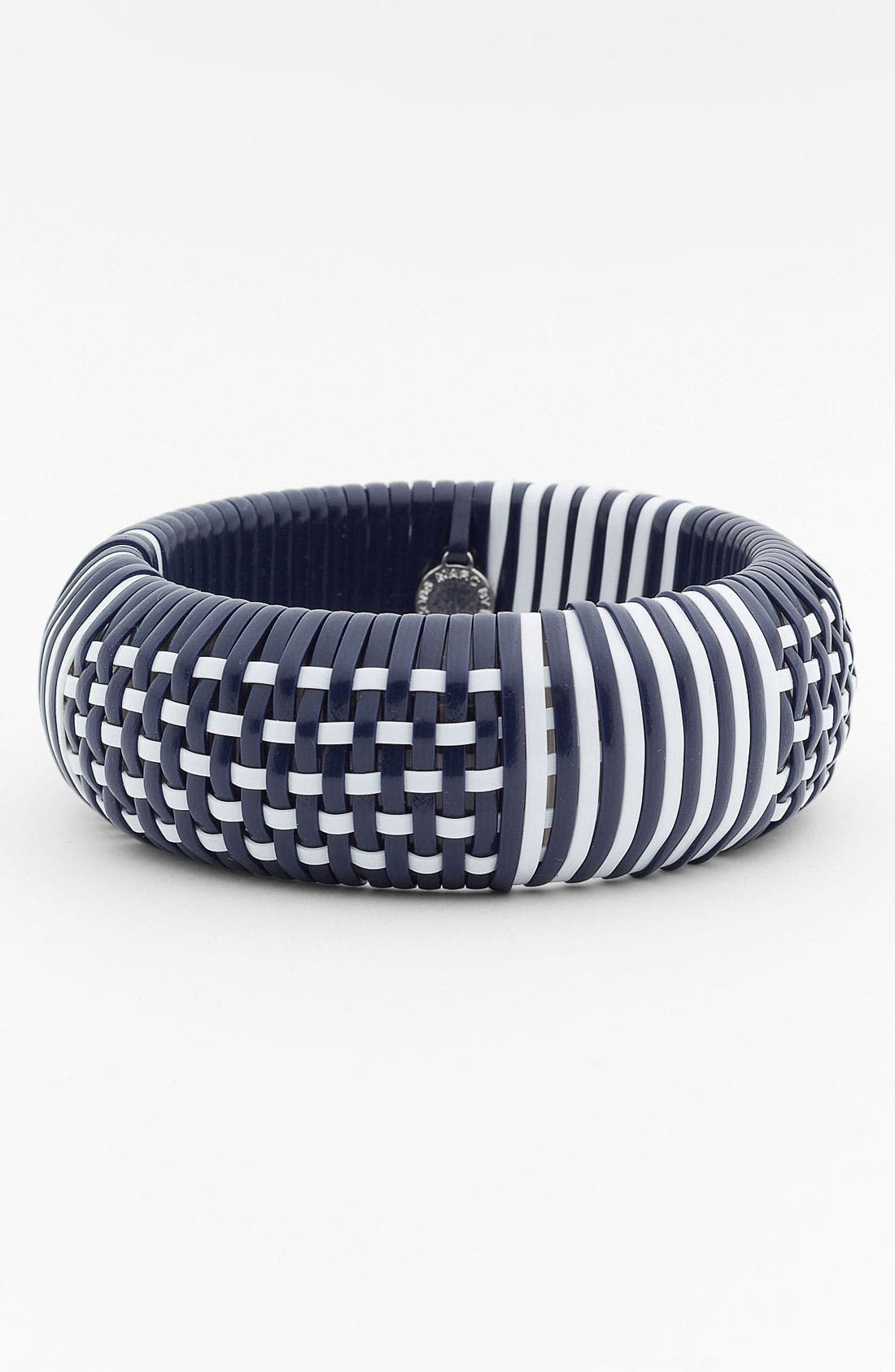 Alternate Image 1 Selected - MARC BY MARC JACOBS 'Puffy' Woven Bangle