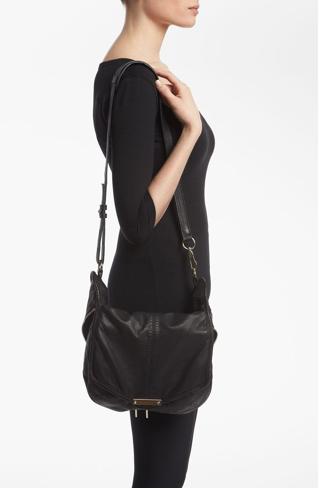 Alternate Image 2  - Alexander Wang 'Iris' Leather Crossbody Bag