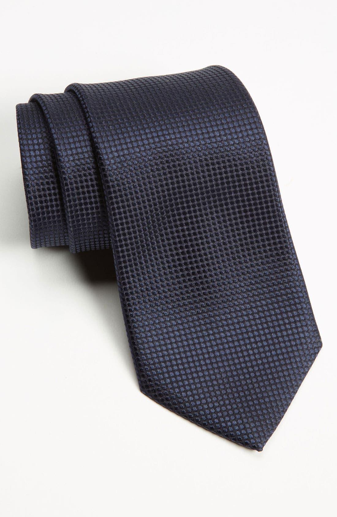 Alternate Image 1 Selected - Z Zegna Dot Woven Silk Tie
