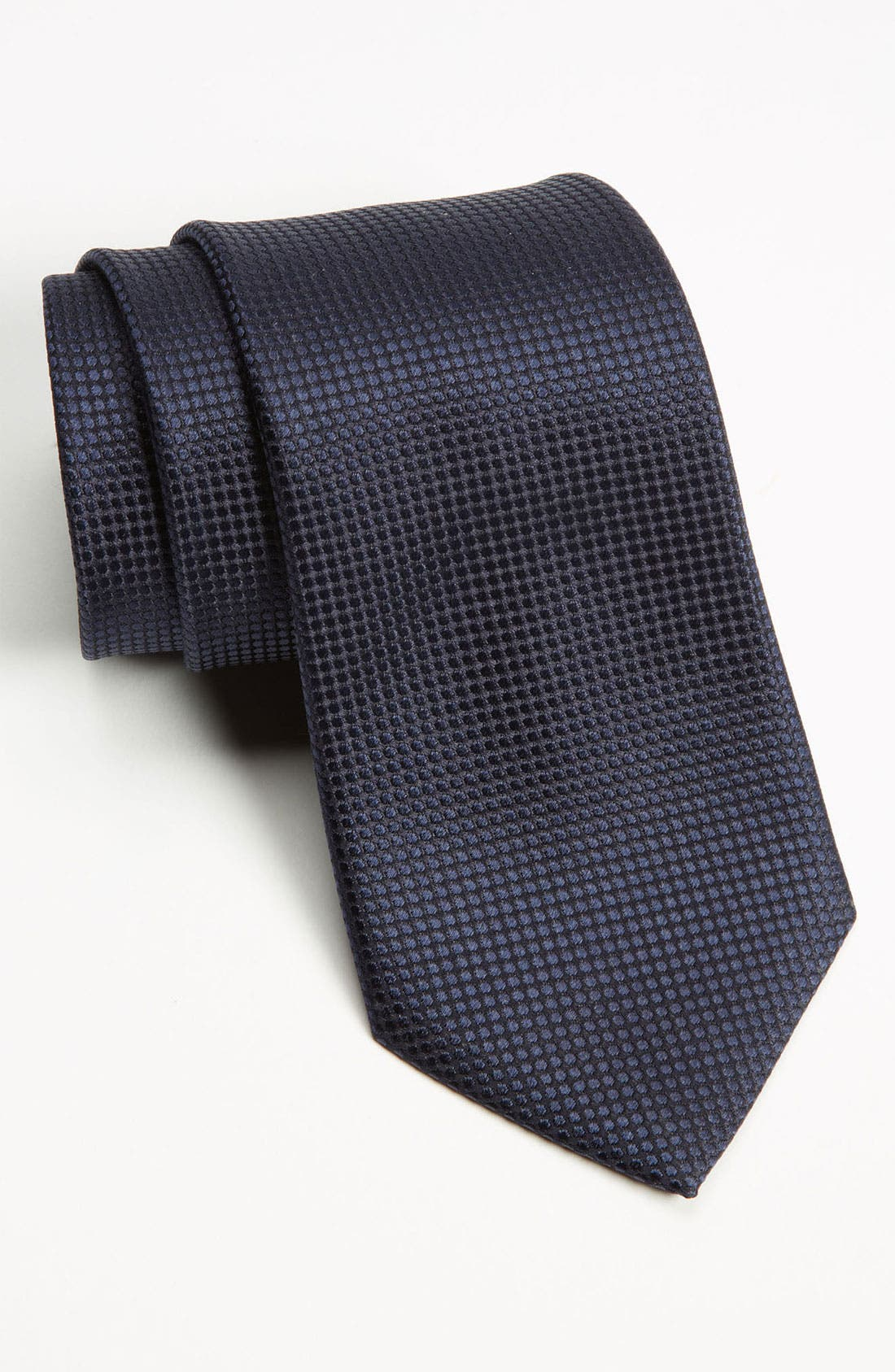 Main Image - Z Zegna Dot Woven Silk Tie