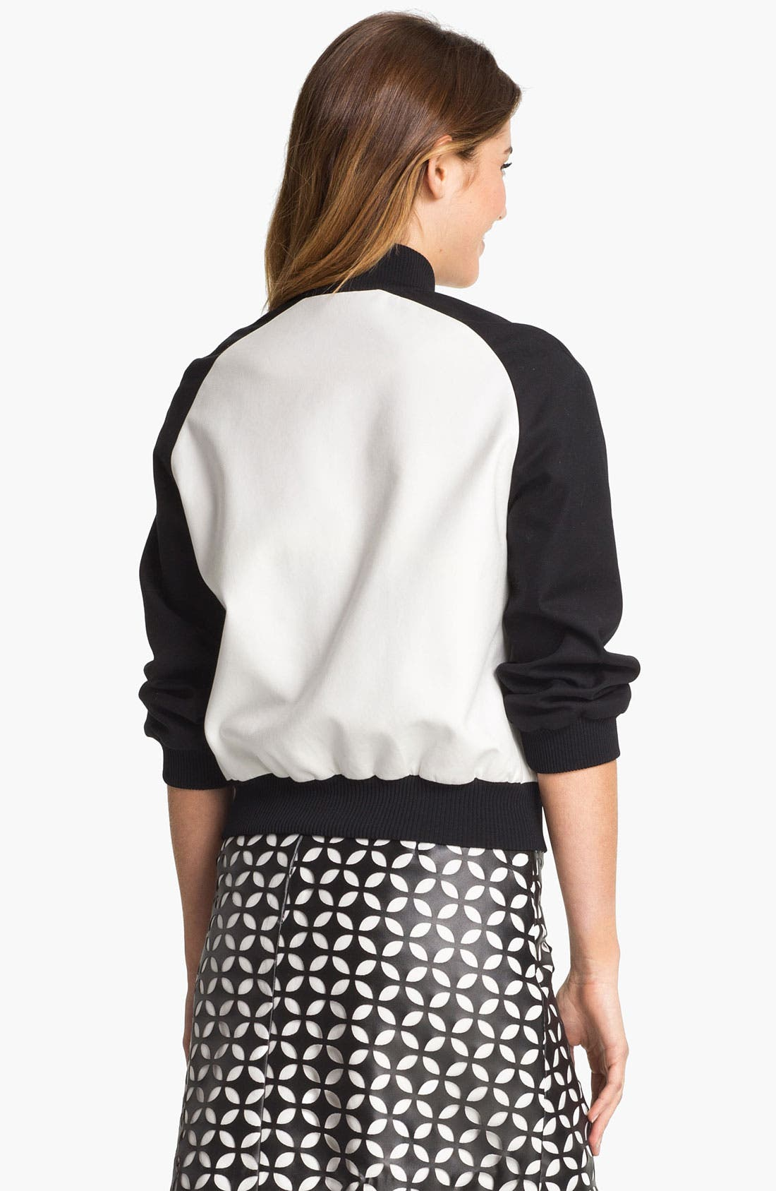 Alternate Image 2  - Vince Camuto Baseball Jacket
