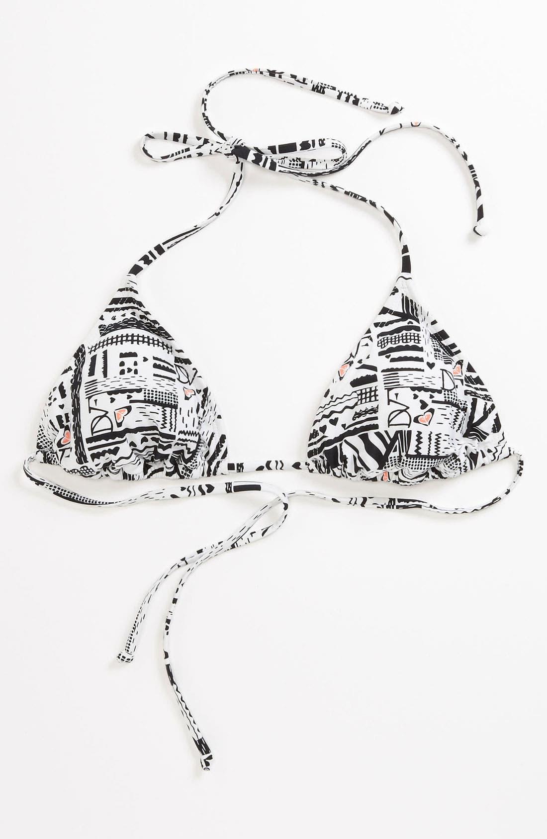 Alternate Image 7  - 'DVF Loves Roxy' Bikini Top
