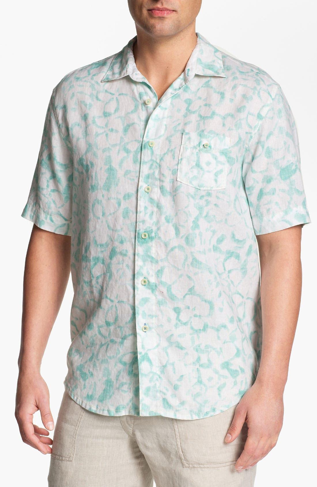 Alternate Image 1 Selected - Tommy Bahama 'Santa Barbara Breezer' Short Sleeve Sport Shirt