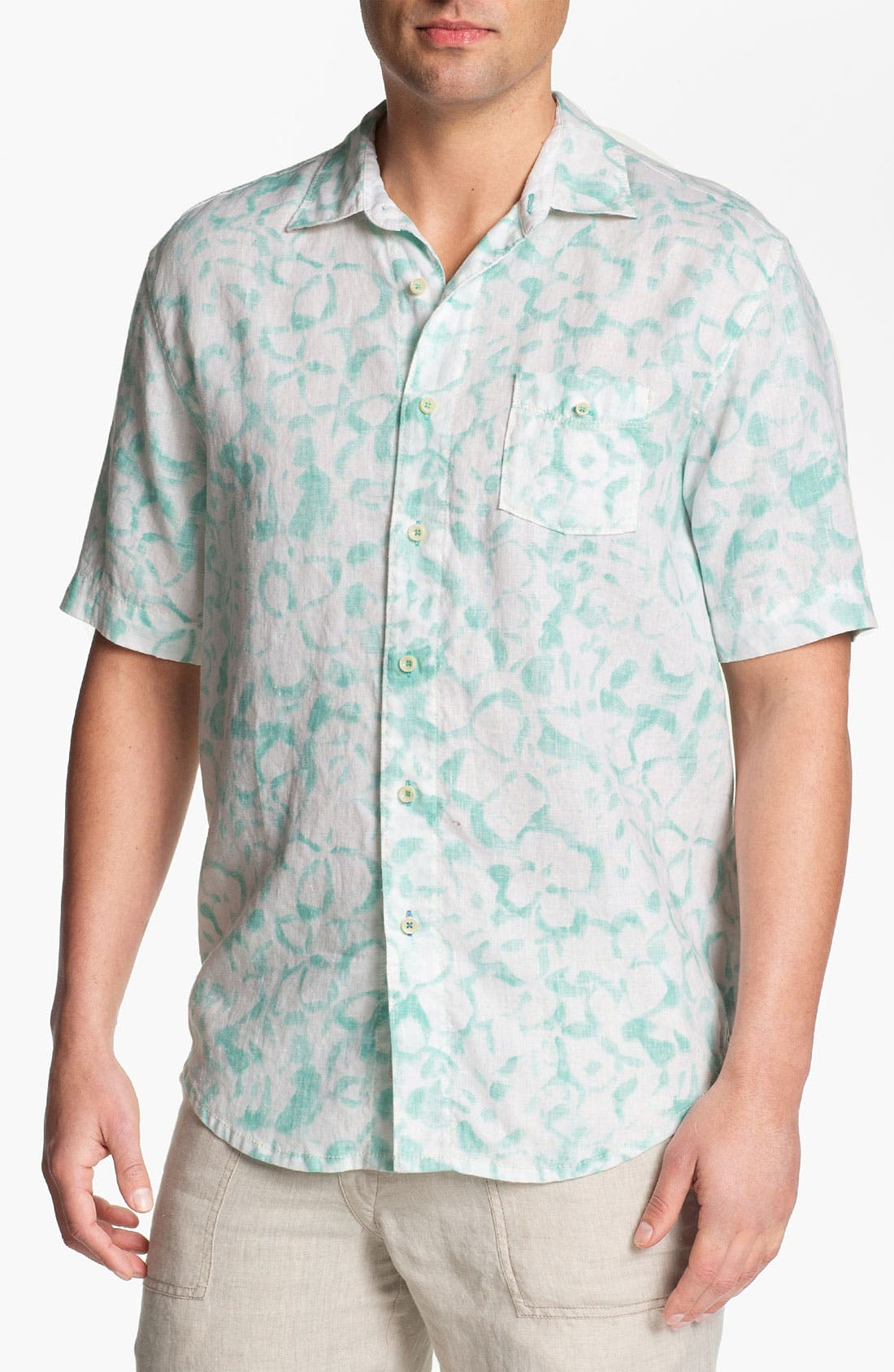 Main Image - Tommy Bahama 'Santa Barbara Breezer' Short Sleeve Sport Shirt