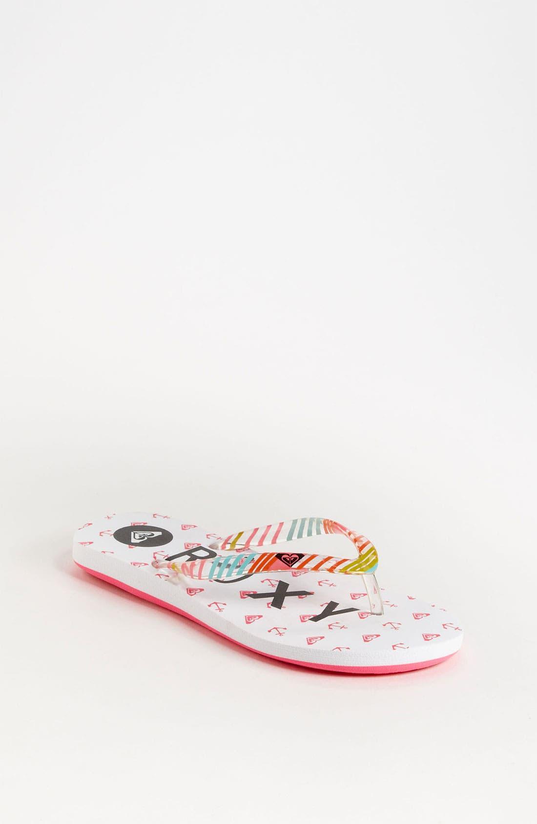 Alternate Image 1 Selected - 'Pebbles' Sandal (Toddler, Little Kid & Big Kid)