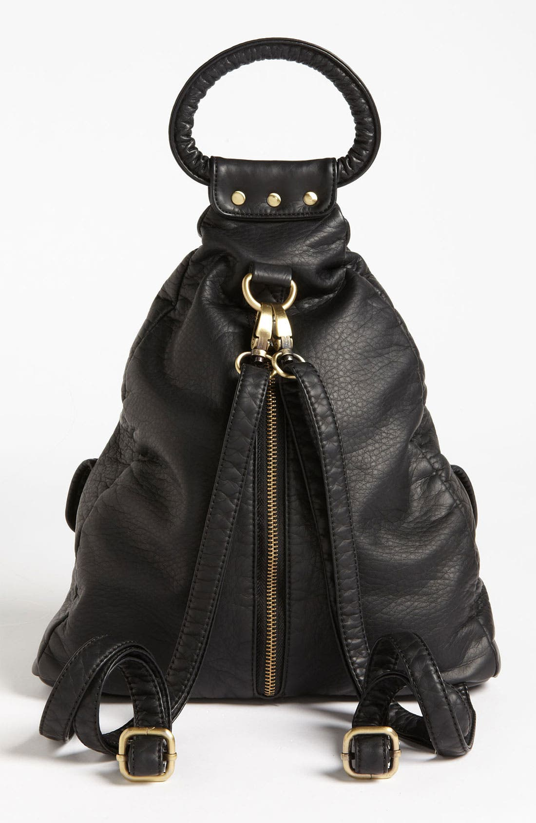 Alternate Image 4  - Cesca Faux Leather Backpack