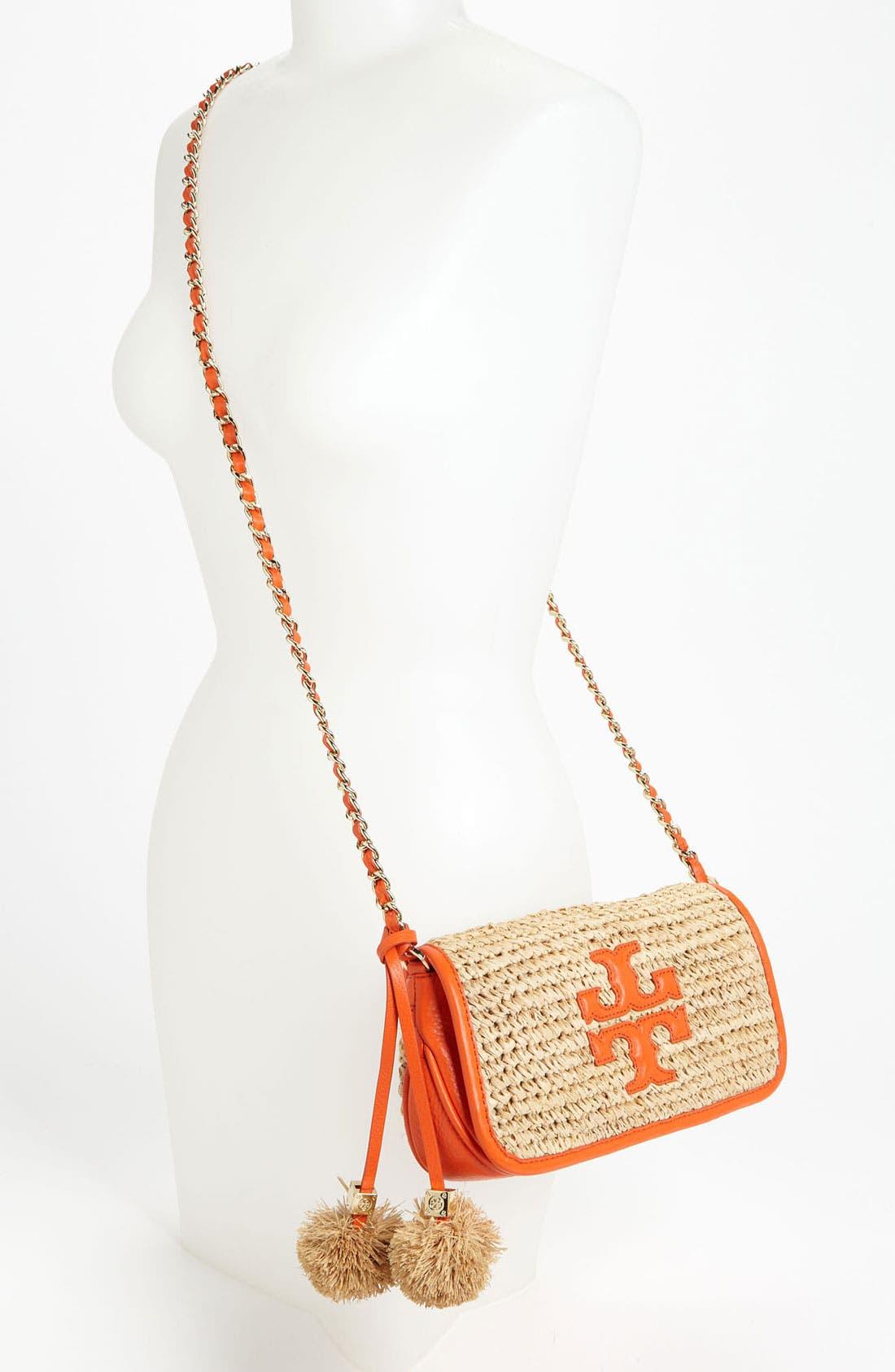 Alternate Image 2  - Tory Burch 'Thea - Mini' Straw Crossbody Bag, Small