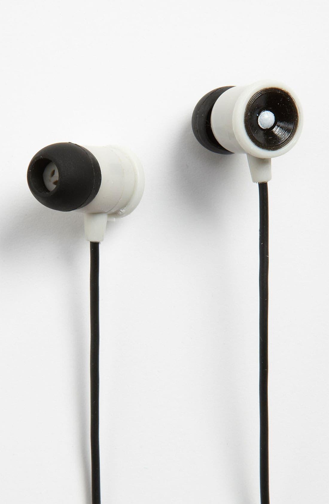 Alternate Image 1 Selected - Kikkerland Design Speaker Earbuds