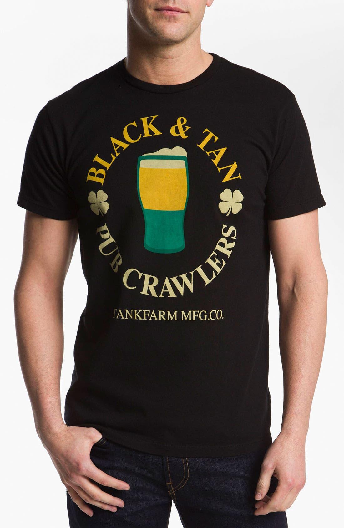 Alternate Image 1 Selected - Tankfarm 'Black & Tan' T-Shirt