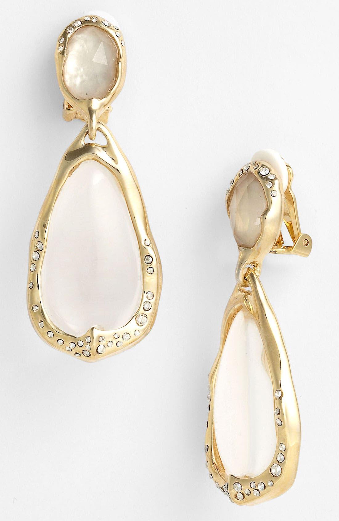 Main Image - Alexis Bittar 'Lucite® - Ophelia' Clip Teardrop Earrings