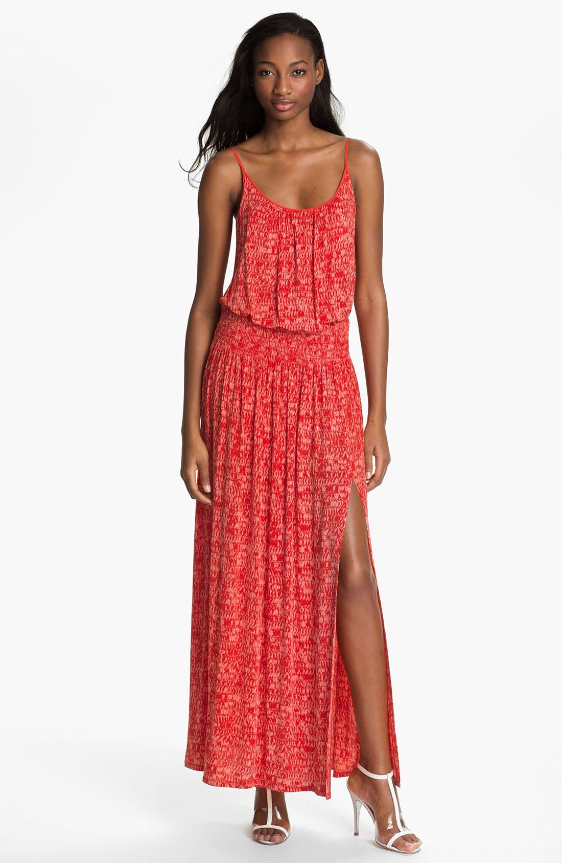 Alternate Image 1  - Tracy Reese Print Jersey Maxi Dress