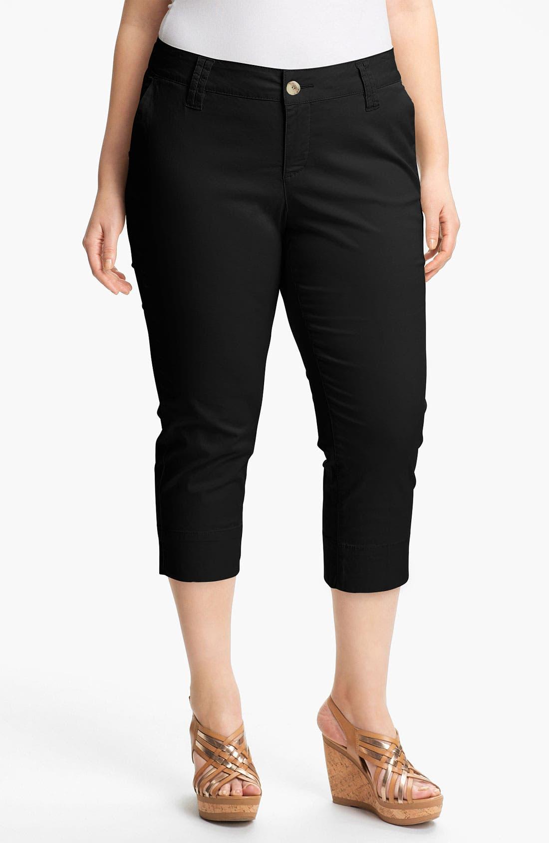 Main Image - Jag Jeans 'Maitland' Crop Jeans (Plus Size) (Online Only)