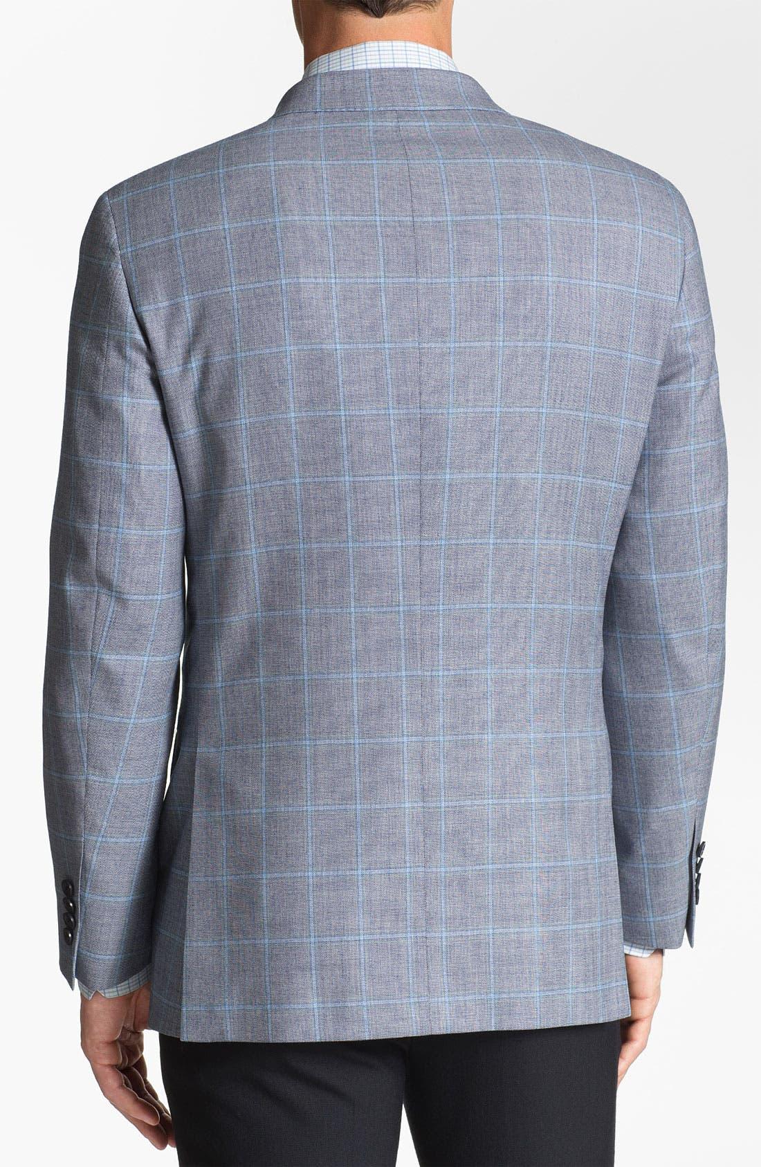 Alternate Image 3  - Samuelsohn Plaid Sportcoat