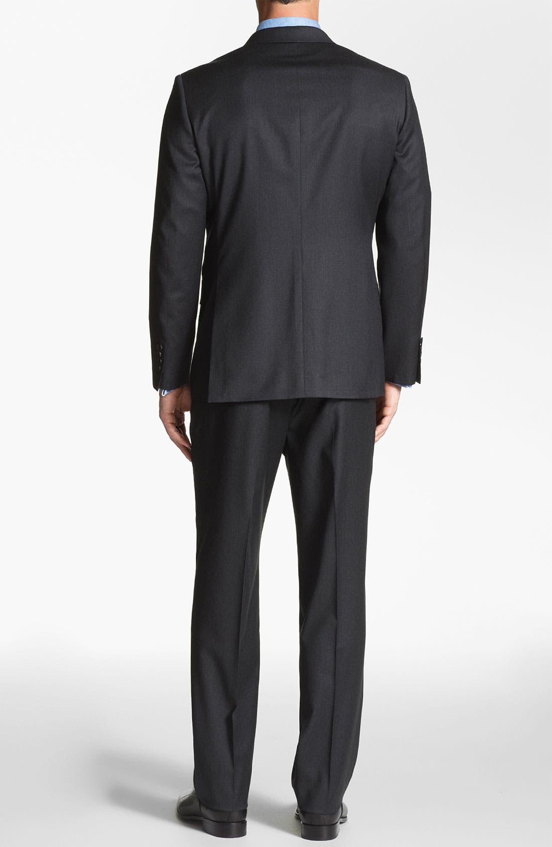Alternate Image 2  - John W. Nordstrom 'Travel' Classic Fit Wool Suit