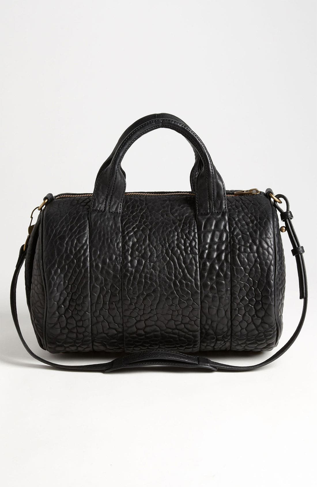Alternate Image 4  - Alexander Wang 'Rocco - Antique Brass' Leather Satchel