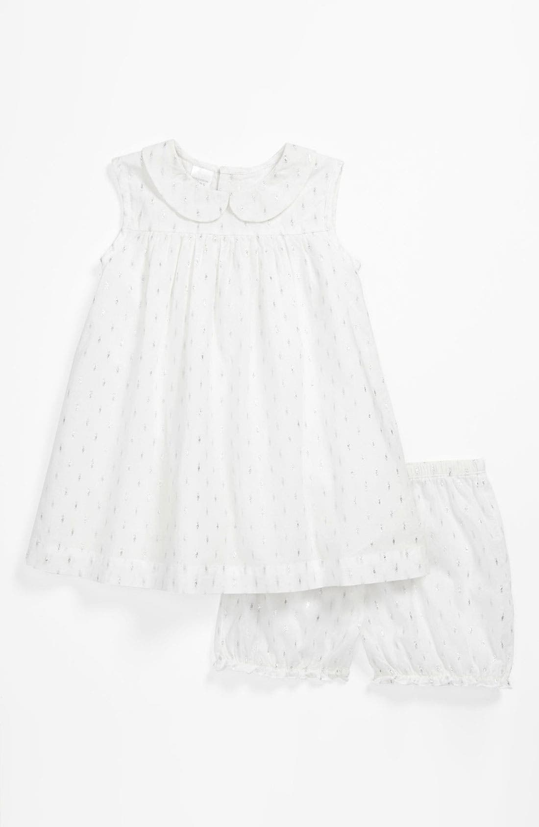 Alternate Image 1 Selected - Nordstrom Baby Dress & Bloomers (Baby)