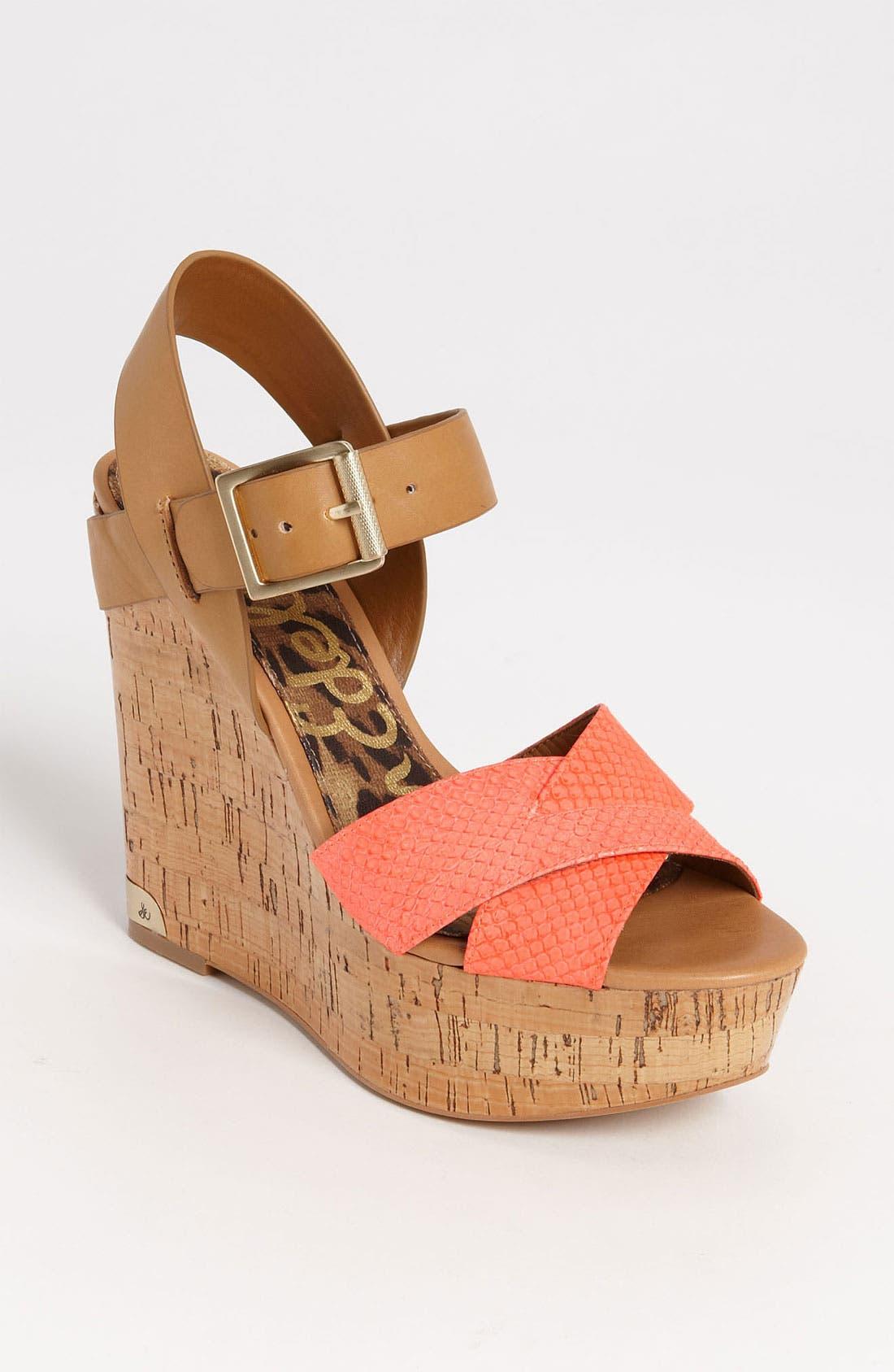 Main Image - Sam Edelman 'Sasha' Wedge Sandal