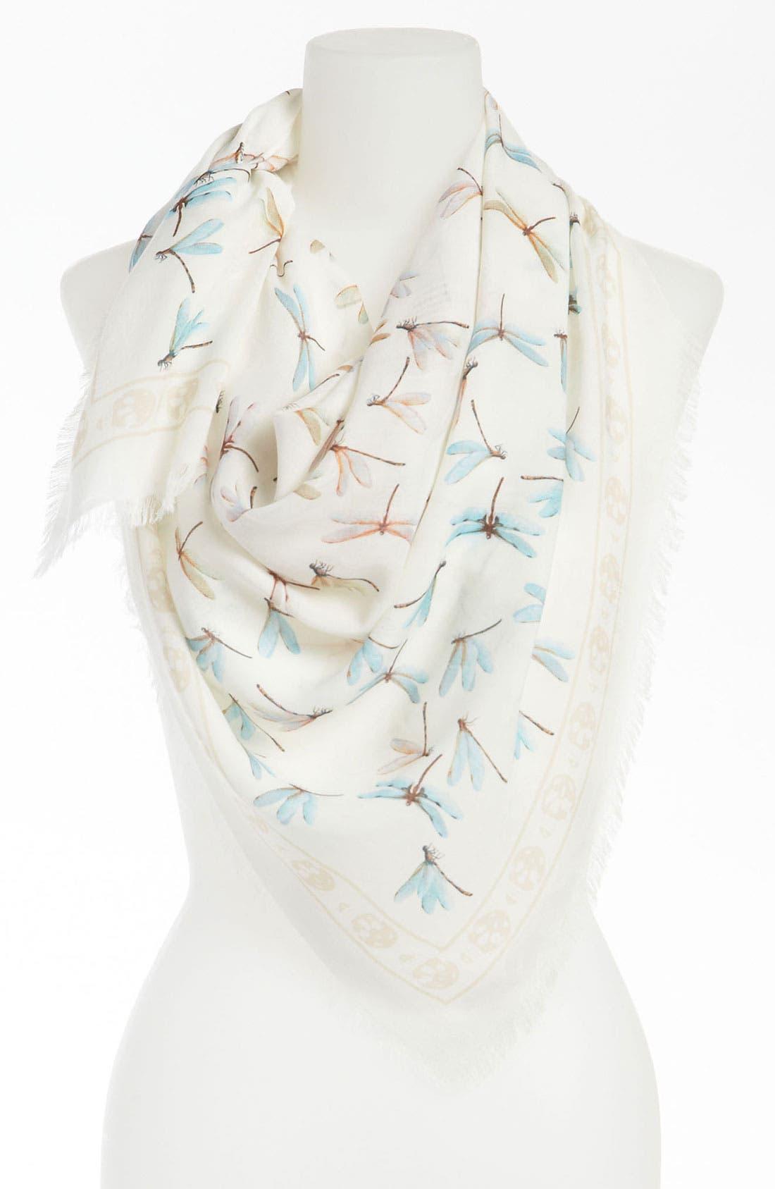 Main Image - Alexander McQueen 'Dragonflies' Scarf