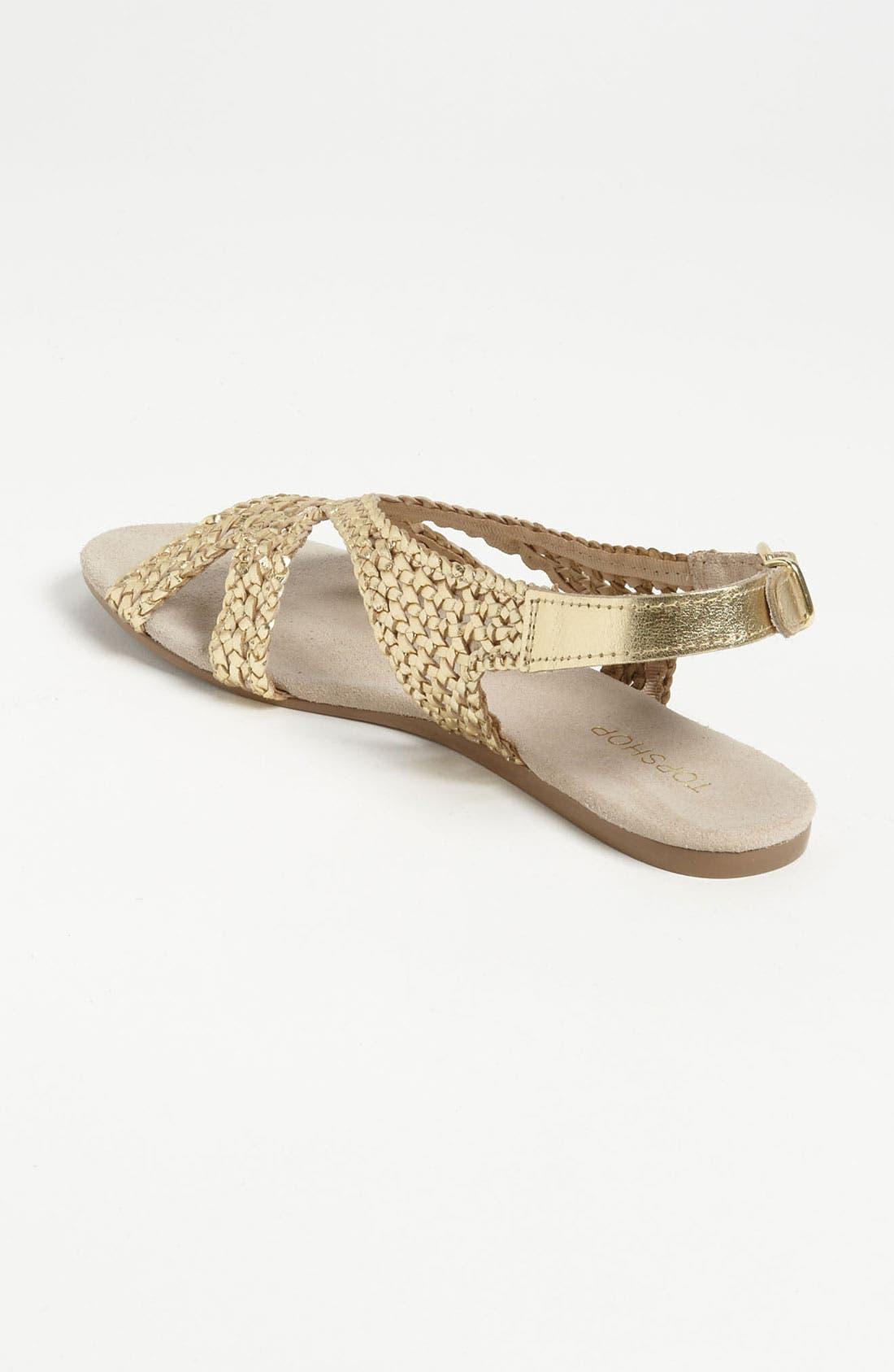 Alternate Image 2  - Topshop 'Hinders' Woven Sandal